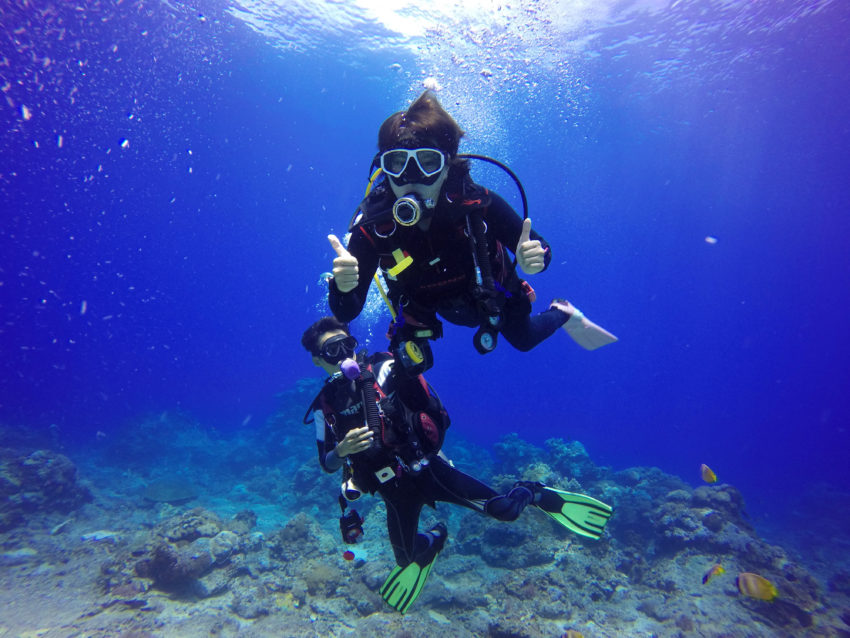 Scuba diving fun - Atlantis Oia Dive Center